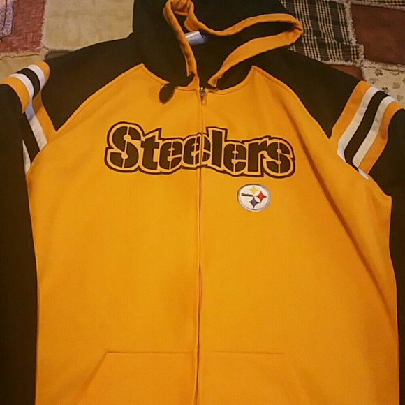 Steelers zip up hoodie