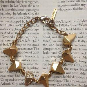 Jewelmint Gold Spike Bracelet