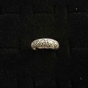 Jewelry - Sterling Silver Marcasite RingSz.8
