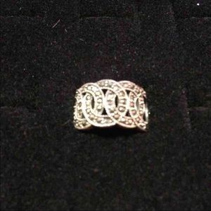 Jewelry - Marcasite Sterling Silver Ring Sz.6