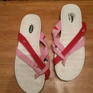 Shoes - Dr Scholls flip flops