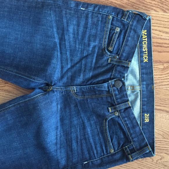 J. Crew Jeans - J crew matchstick jeans size 28