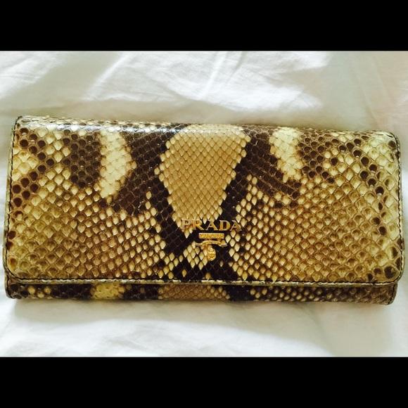 e0367de1f967 PRADA snake skin wallet. M_55fc7a02a88e7db0770028a1
