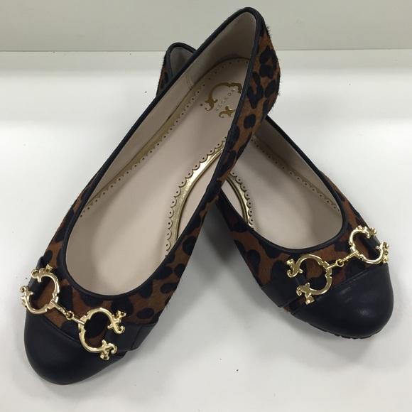 183bc3401961 C Wonder Shoes - C Wonder size 7 leopard print flats