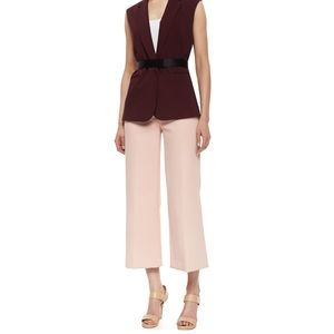 theory cropped wide leg pants