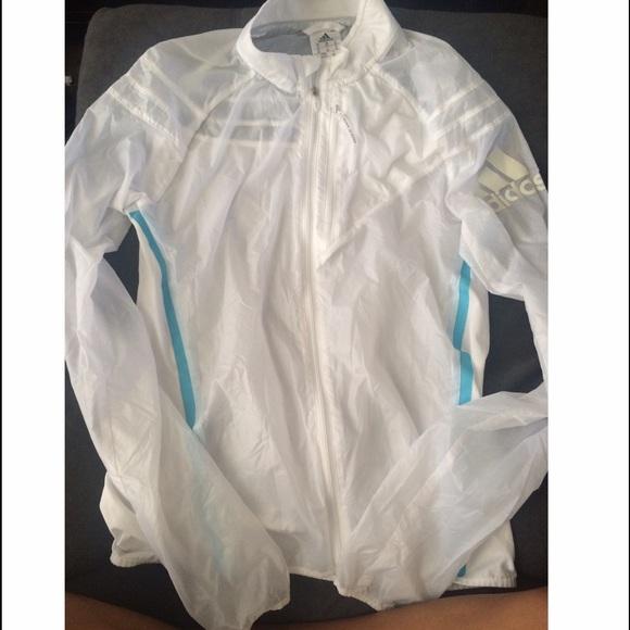 adidas run transparent jacket