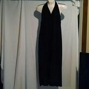 ripe Dresses & Skirts - Black halter dtess