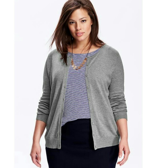 49% off Old Navy Sweaters - Old Navy Women's Plus Classic Cardigan ...