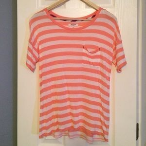 Madewell striped pocket tee