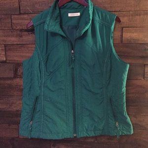 Jackets & Blazers - Green puffer jacket