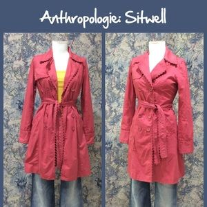Anthropologie Jackets & Blazers - Anthro Trenchcoat by Sitwell
