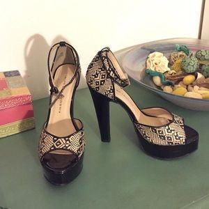 Chinese laundry platorm heels