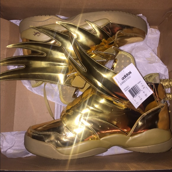 "7be580404491 JEREMY SCOTT X ADIDAS WINGS 3.0 ""GOLD"""