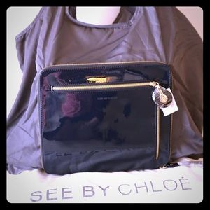 See by Chloe expandable bag