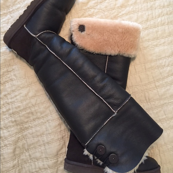d7402cd3187 Ugg Over-the-Knee Bailey Button Boot. M 55fd9d7b4e95a368580016a4