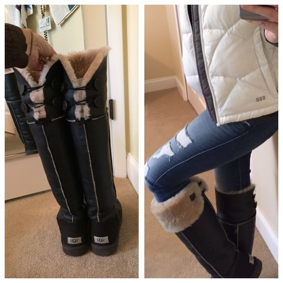 204ee4dc7e0 ugg bailey button over the knee boots