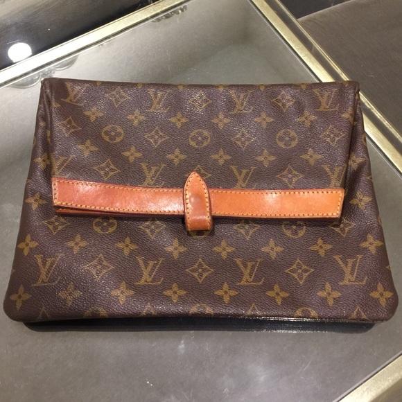 b58d5a8b44a4 Louis Vuitton Clutches   Wallets - Vintage Louis Vuitton Clutch Handbag