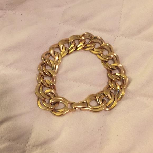 Monet Jewelry Gold Tone 8 Bracelet Poshmark