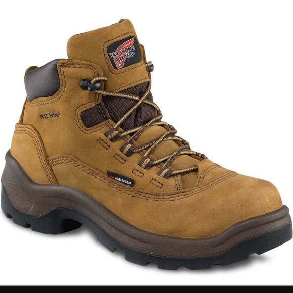 Red wing - Red wing hiking boots steeled toe 2327 5-inch from ...