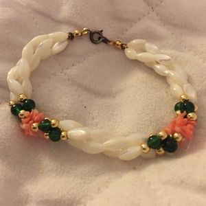 Other - Childs seed pearl and coral bracelet