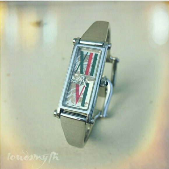 62307f5d071 Gucci Accessories - GUCCI 1500L watch BANGLE stainless SWISS
