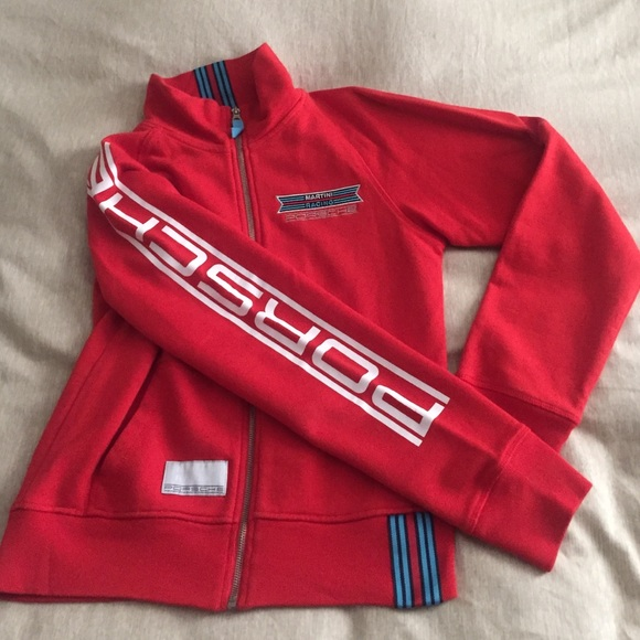 Porsche Jackets Amp Coats Martini Racing Team Sweatshirt