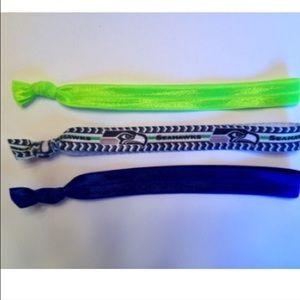 Seahawks Accessories - 3 Seahawks elastic Headbands bundle