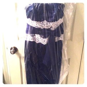 Alexia Designs Dresses & Skirts - Navy Formal Dress