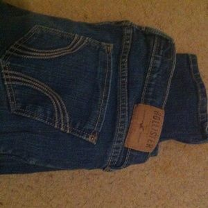 Hollister Denim - Hollister stretch dark denium jeans