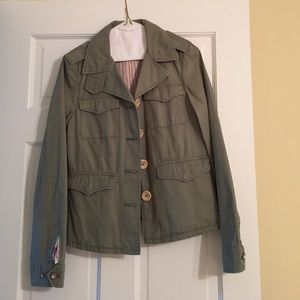 green american eagle outfitters army jacket on Poshmark