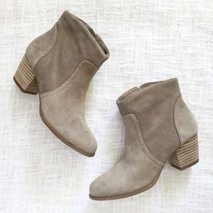 Sole Society Shoes - sole society taupe ankle boots