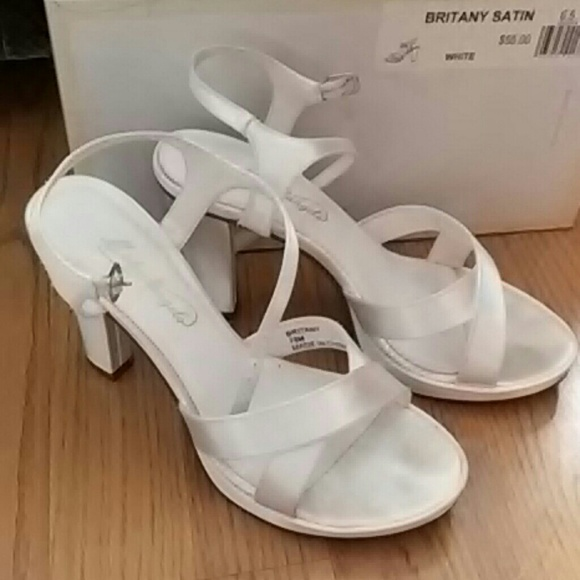 61 david s bridal shoes michaelangelo white bridal