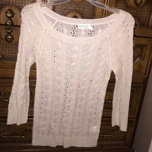 Sweaters - Cream colored sweater
