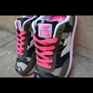 new balance 501 pink camo