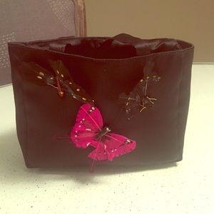 butterfly evening bag