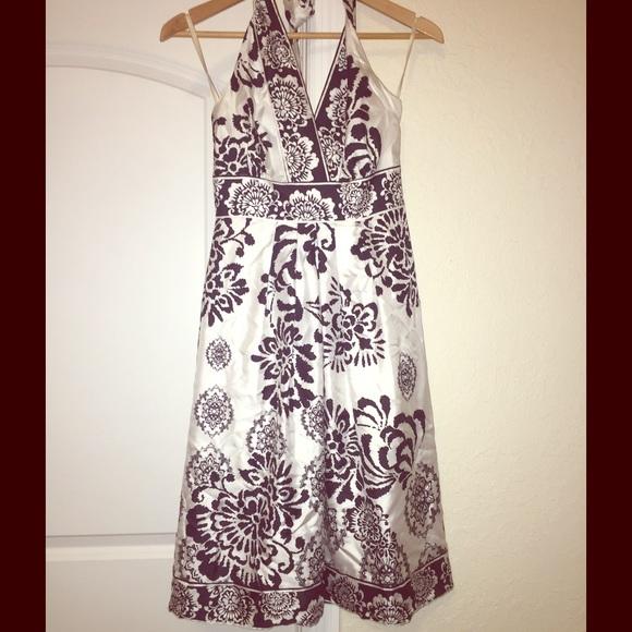 Black and white market Dresses & Skirts - Black house white market halter dress