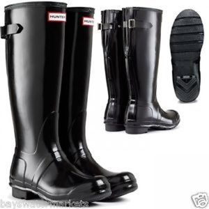ISO BLACK HUNTER ADJUSTABLE BOOTS