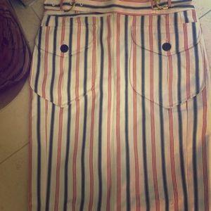Lamb plaid skirt