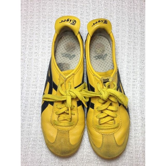 size 40 73289 c81ea Asics Onitsuka Tiger Mexico 66 Yellow Sneaker
