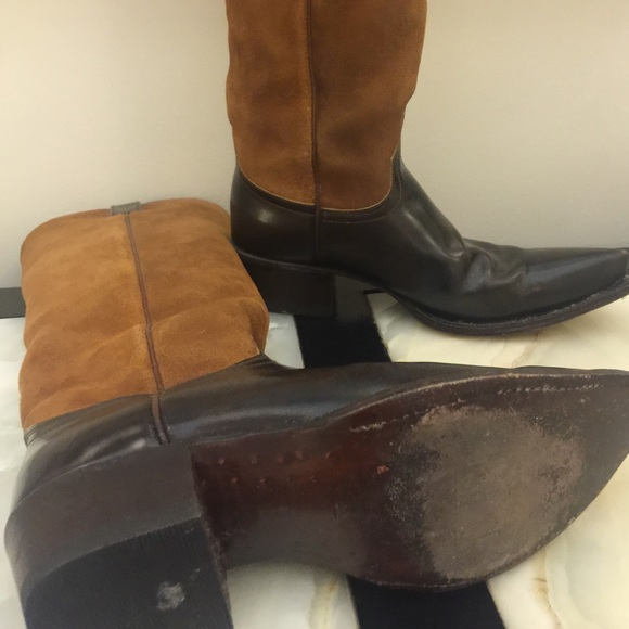28 frye boots frye rider boots brown leather