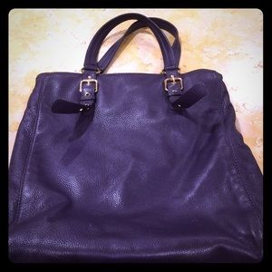 Michael Kors eggplant work bag