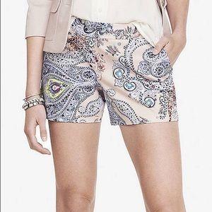 Express Paisley Shorts