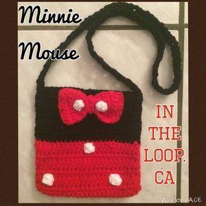 Handmade Minnie Mouse purse