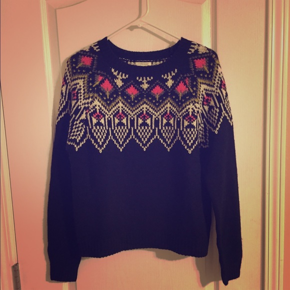 71% off Forever 21 Sweaters - Forever 21 Fair Isle Sweater from ...
