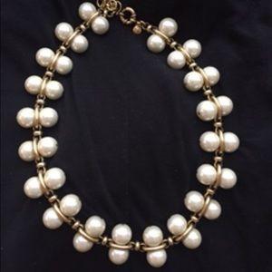 J. Crew costume pearl jewelry