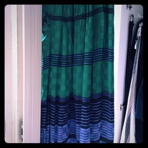 Vintage silk skirt ; size 2