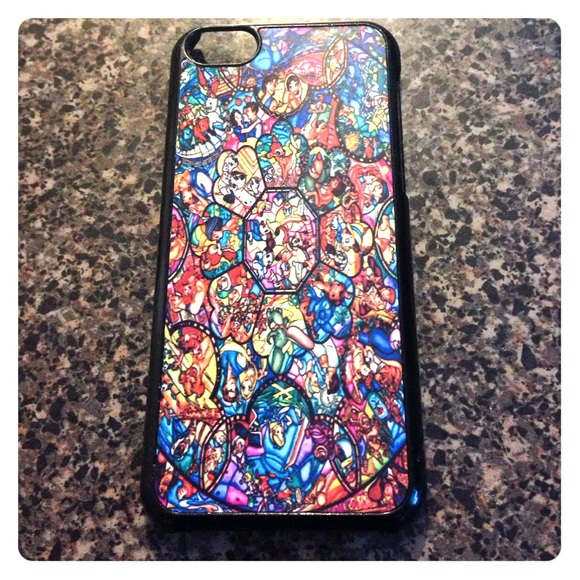 wholesale dealer 4b490 8eba9 Disney Stain Glass Phone Case