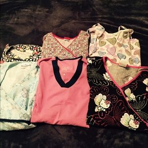 Tops - A bundle of scrub tops!!