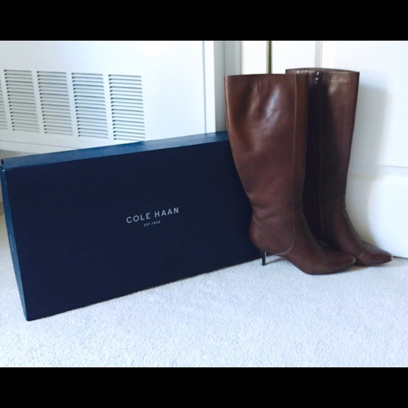 Cole Haan Carlyle Dress Boot Extended Calf U8VzSo