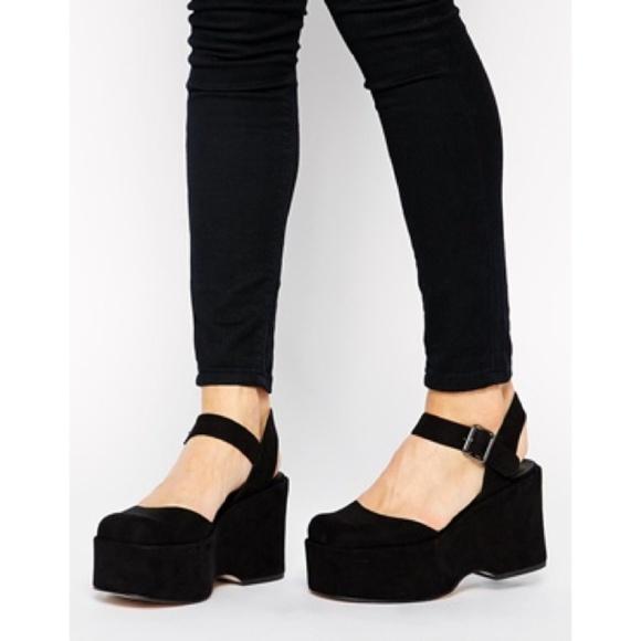 ASOS Shoes | Asos Paw Print Flatforms